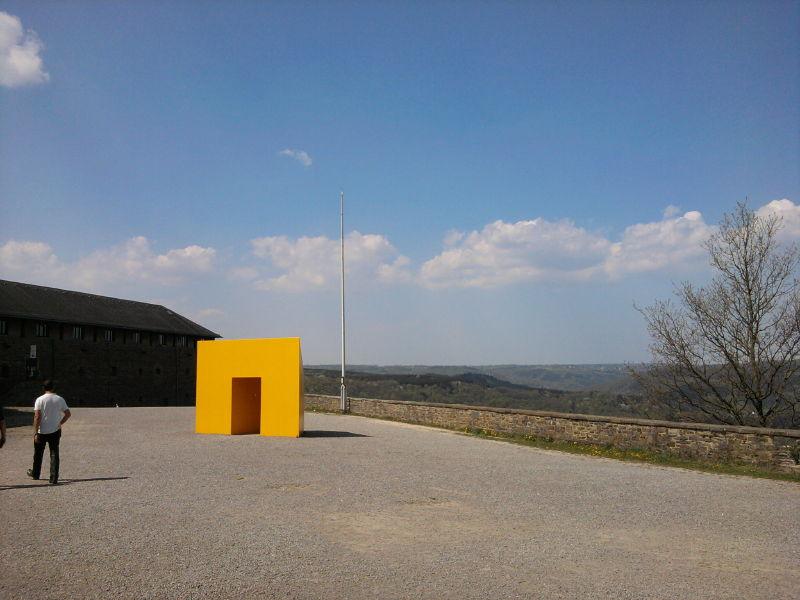 NS-Ordensburg Vogelsang - Aussichtplattform