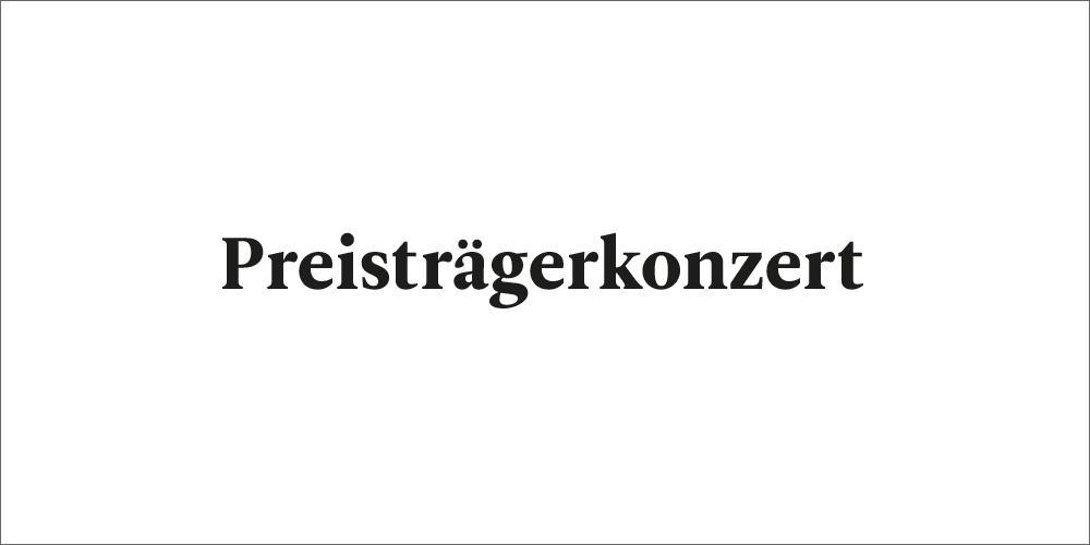 Preisträgerkonzert